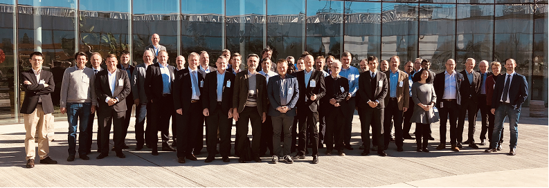 CCBG §7 participants outside Ericsson HQ in Kista on 10th April 2018