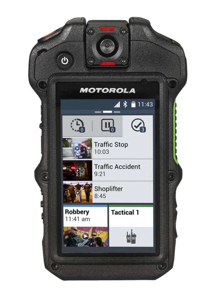 Motorola Solutions Equips German Federal Police with Body