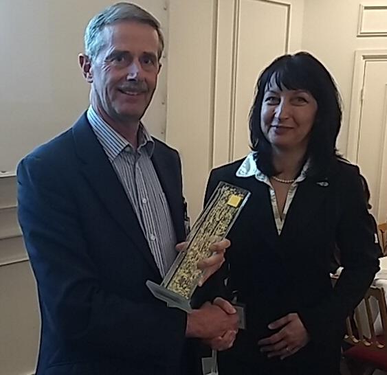 David Chater-Lea awarded prestigious ETSI Fellowship