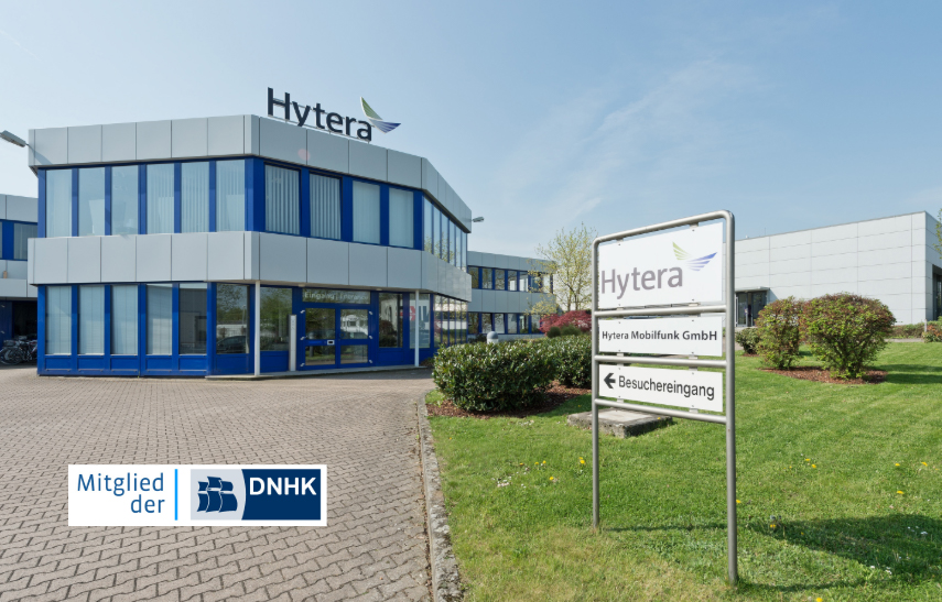 New member of German-Dutch Chamber of Commerce – Hytera Mobilfunk GmbH