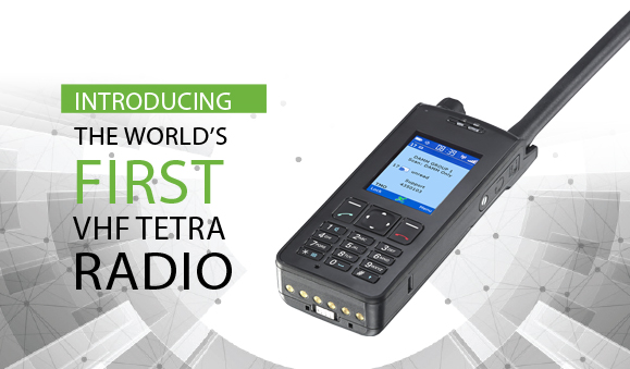 DAMM launches the world's first VHF TETRA radio at CCW