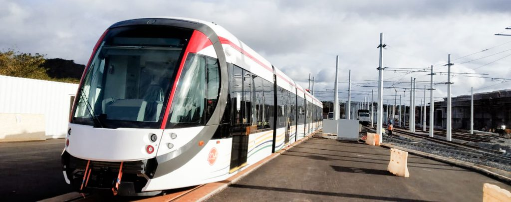 DAMM delivers infrastructure for the first mass transit system in Mauritius