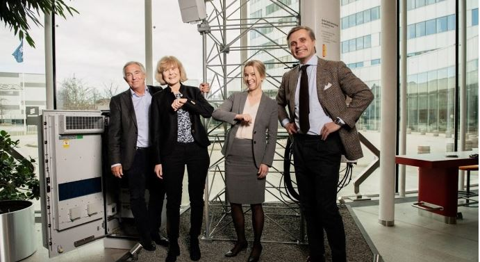 Ericsson to drive industry digitalization in Sweden with Teracom AB