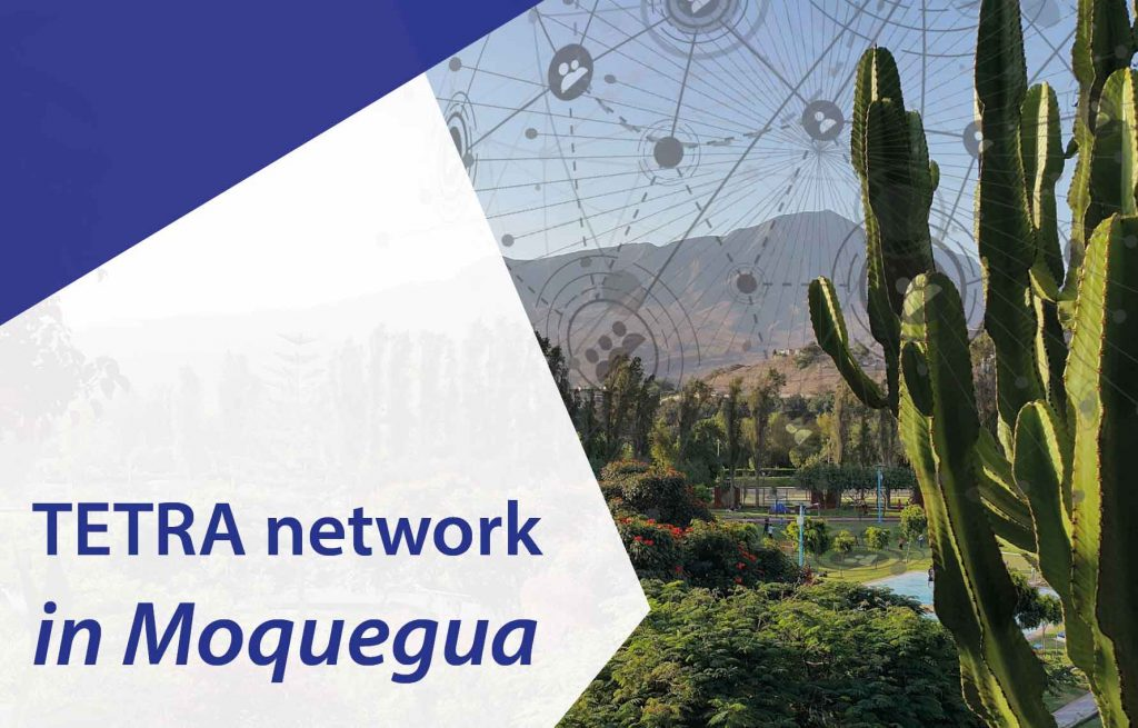 HYTERA continues expansion in Peru, setting up a TETRA communication network in Moquegua
