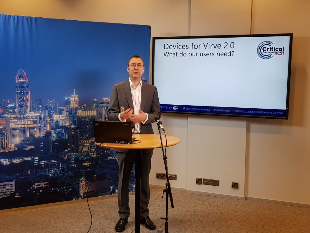 First results from the information request for the future Virve broadband devices available on CCWeek