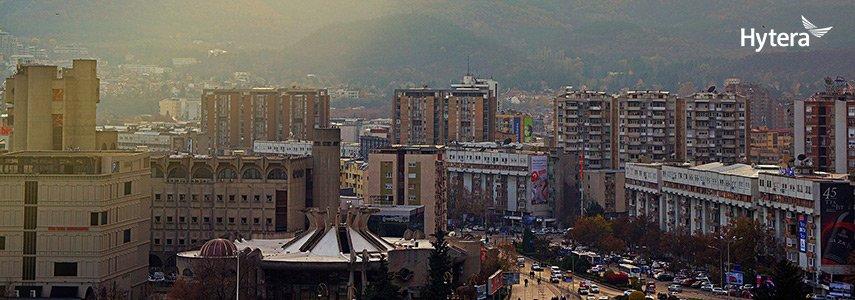 Hytera Mobilfunk supplies 1000 TETRA radios to the Republic of North Macedonia