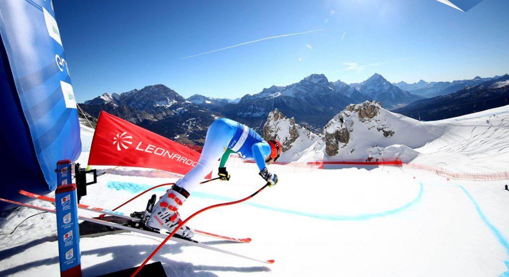 Leonardo is the technological partner of Fondazione Cortina for the protection of the Alpine Ski World Championships