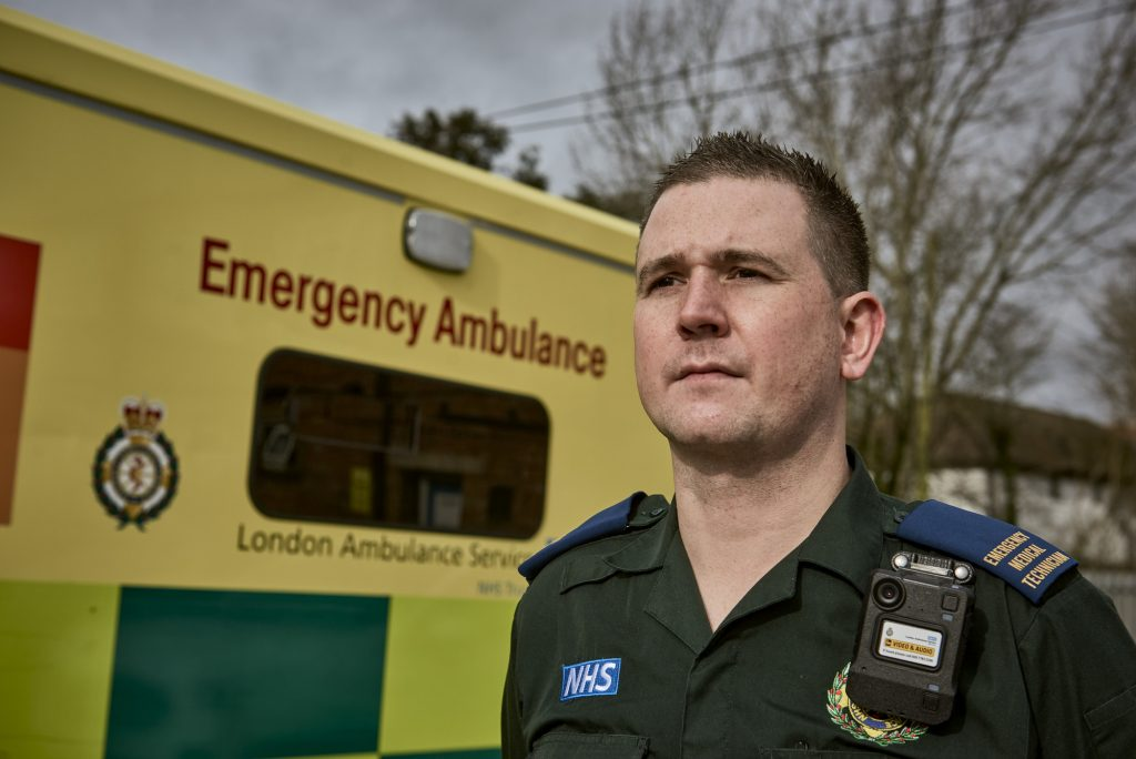Paramedic Safety Prioritised – London Ambulance Service Rolls Out Body-Worn Camera Solution From Motorola Solutions